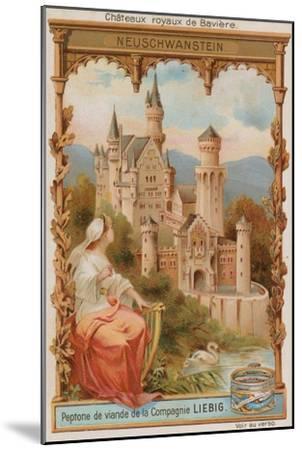 Neuschwanstein--Mounted Giclee Print