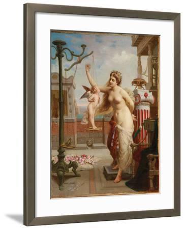 Weighing Cupid-Henri Pierre Picou-Framed Giclee Print
