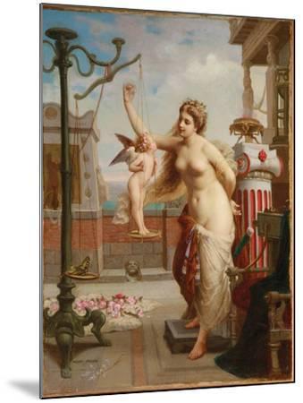 Weighing Cupid-Henri Pierre Picou-Mounted Giclee Print