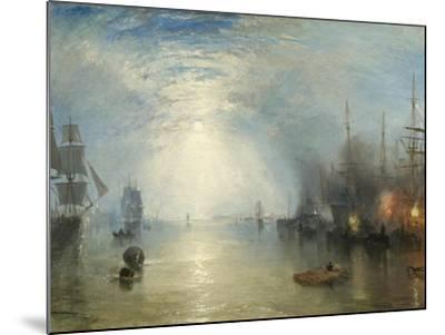 Keelmen Heaving in Coals by Moonlight, 1835-J^ M^ W^ Turner-Mounted Giclee Print