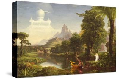 The Voyage of Life: Youth, 1842-Thomas Cole-Stretched Canvas Print