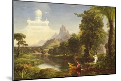 The Voyage of Life: Youth, 1842-Thomas Cole-Mounted Giclee Print