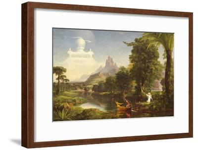 The Voyage of Life: Youth, 1842-Thomas Cole-Framed Giclee Print