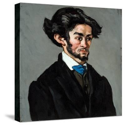 Portrait Romantique, 1868-70-Paul C?zanne-Stretched Canvas Print