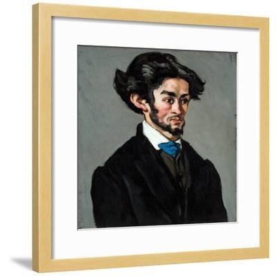 Portrait Romantique, 1868-70-Paul C?zanne-Framed Giclee Print