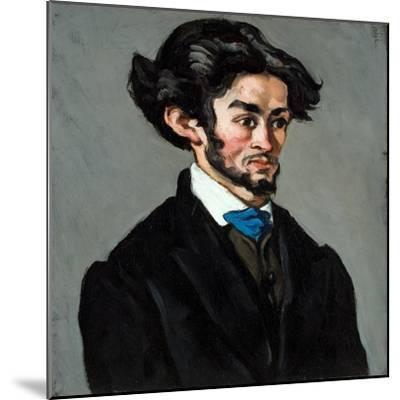 Portrait Romantique, 1868-70-Paul C?zanne-Mounted Giclee Print