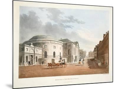 Rotunda and New Rooms, Dublin, 1795-James Malton-Mounted Giclee Print