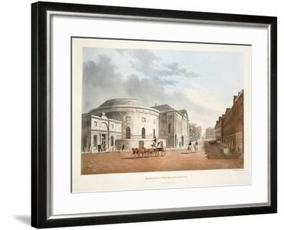 Rotunda and New Rooms, Dublin, 1795-James Malton-Framed Giclee Print