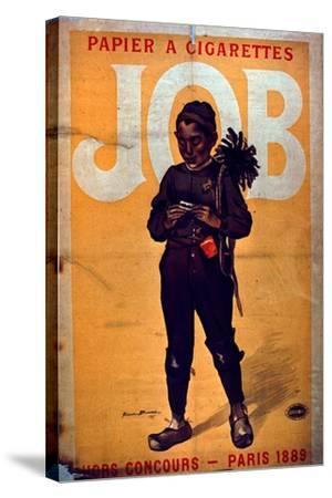 Job Cigarette Paper, 1895--Stretched Canvas Print