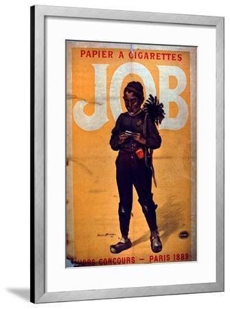 Job Cigarette Paper, 1895--Framed Giclee Print