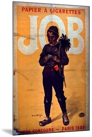Job Cigarette Paper, 1895--Mounted Giclee Print