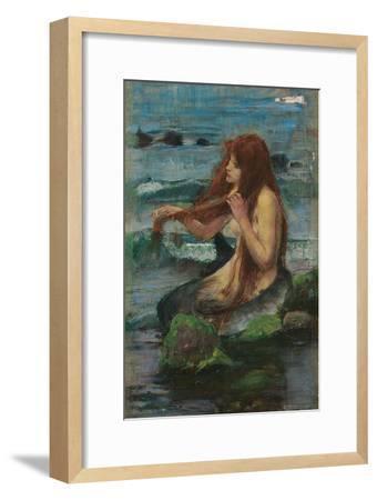 The Mermaid, 1892-John William Waterhouse-Framed Giclee Print