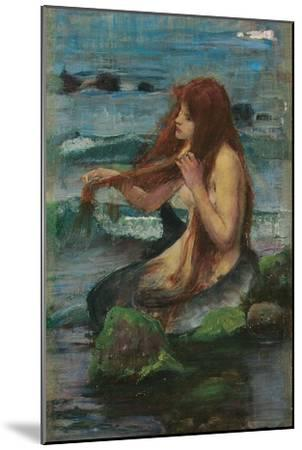 The Mermaid, 1892-John William Waterhouse-Mounted Giclee Print