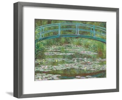 The Japanese Footbridge, 1899-Claude Monet-Framed Giclee Print