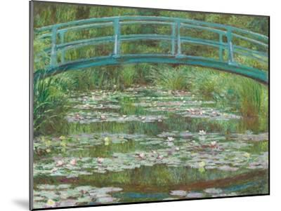 The Japanese Footbridge, 1899-Claude Monet-Mounted Giclee Print