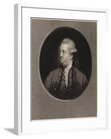 Edward Gibbon-Sir Joshua Reynolds-Framed Giclee Print