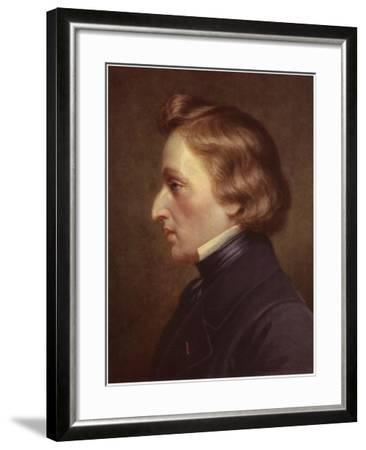 Portrait of Frederic Chopin--Framed Giclee Print