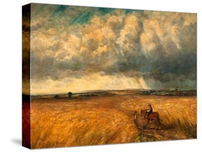 The Gathering Storm, 1819-John Constable-Stretched Canvas Print