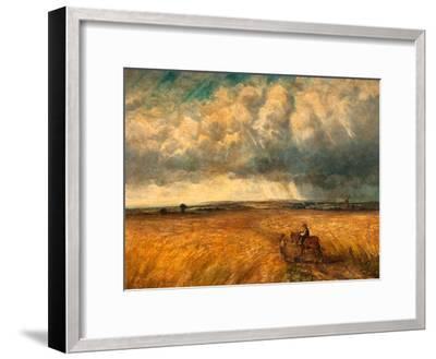 The Gathering Storm, 1819-John Constable-Framed Giclee Print