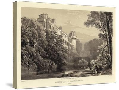Warwick Castle-James Duffield Harding-Stretched Canvas Print