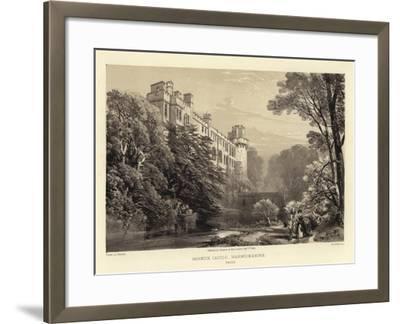 Warwick Castle-James Duffield Harding-Framed Giclee Print