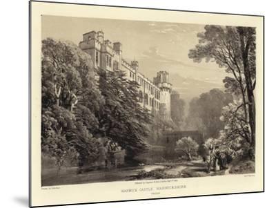 Warwick Castle-James Duffield Harding-Mounted Giclee Print