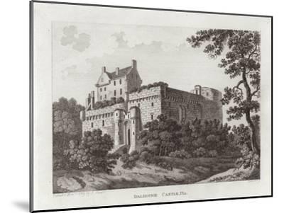 Dalhousie Castle--Mounted Giclee Print