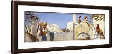 A Scene in Capri-Charles Caryl Coleman-Framed Giclee Print