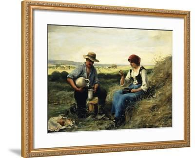 The Midday Repast-Julien Dupre-Framed Giclee Print