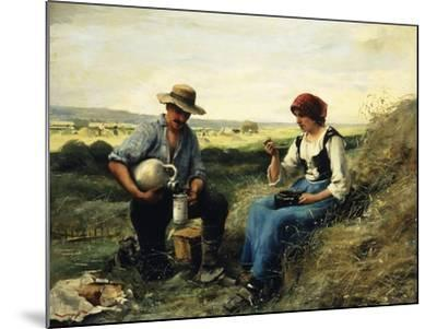 The Midday Repast-Julien Dupre-Mounted Giclee Print
