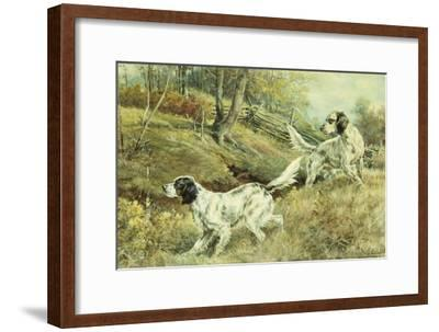 The Drop-Edmund Henry Osthaus-Framed Giclee Print
