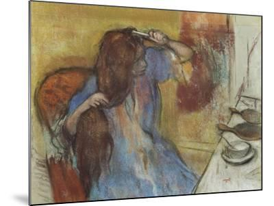 Woman at Her Toilet; Femme a Sa Toilette, C.1889-Edgar Degas-Mounted Giclee Print