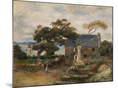 Treboul, Near Douardenez, Brittany; Treboul, Pres De Douardenez, Bretagne, 1895-Pierre-Auguste Renoir-Mounted Giclee Print