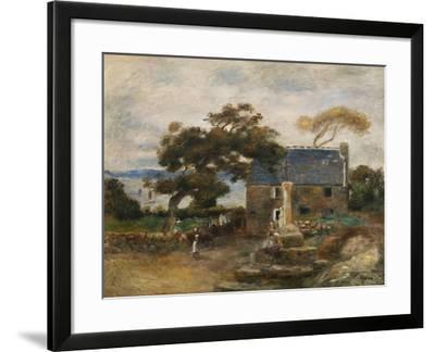 Treboul, Near Douardenez, Brittany; Treboul, Pres De Douardenez, Bretagne, 1895-Pierre-Auguste Renoir-Framed Giclee Print