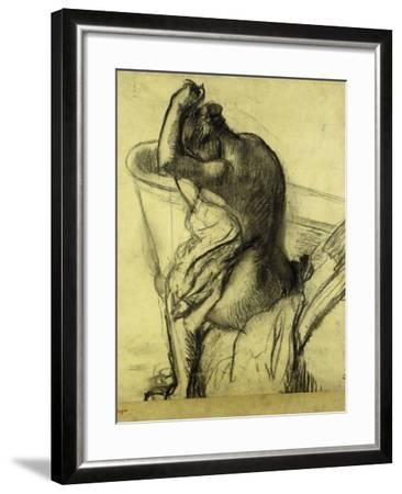 After the Bath; Apres Le Bain, 1899-Edgar Degas-Framed Giclee Print
