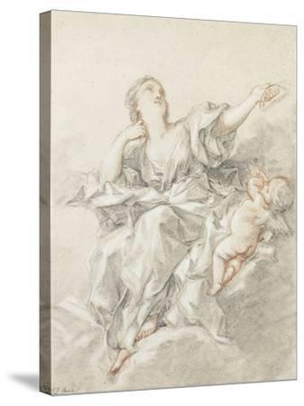 Astronomy; L'Astronomie-Francois Boucher-Stretched Canvas Print