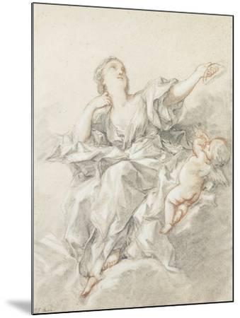 Astronomy; L'Astronomie-Francois Boucher-Mounted Giclee Print
