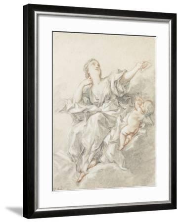 Astronomy; L'Astronomie-Francois Boucher-Framed Giclee Print