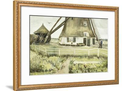 The Mill; Le Moulin, 1881-Vincent van Gogh-Framed Giclee Print