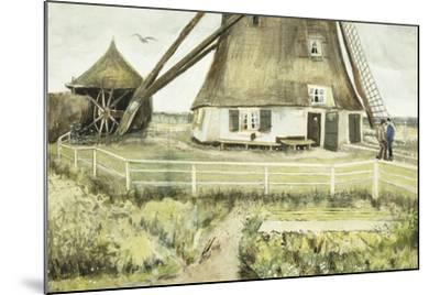 The Mill; Le Moulin, 1881-Vincent van Gogh-Mounted Giclee Print