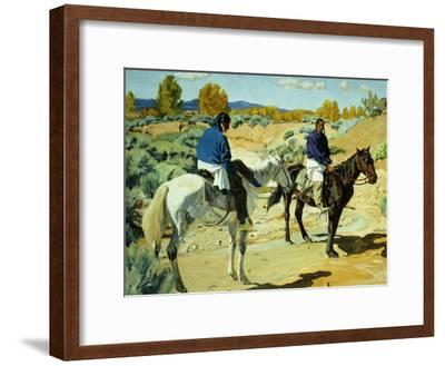 Companions-Walter Ufer-Framed Giclee Print