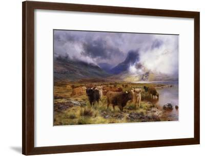 Through Glencoe by Way to the Tay, 1899-Louis Bosworth Hurt-Framed Giclee Print