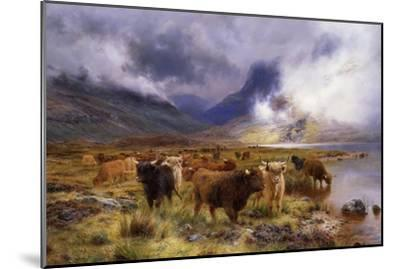 Through Glencoe by Way to the Tay, 1899-Louis Bosworth Hurt-Mounted Giclee Print