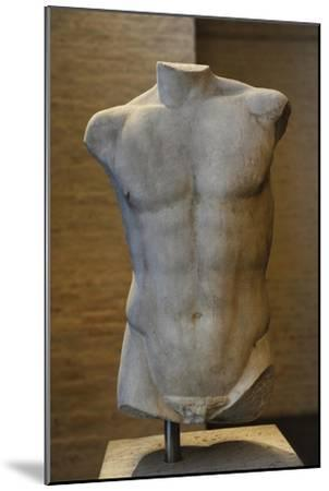 Torso of a Statue of Apollo. Roman Sculpture after Original of About 460 BC. Glyptothek. Munich--Mounted Giclee Print