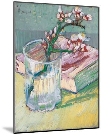 Still Life, a Flowering Almond Branch, 1888-Vincent van Gogh-Mounted Giclee Print