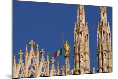 Italy. Milan Catheral. Madona Del Duomo, by Giuseppe Perego in 1774--Mounted Giclee Print