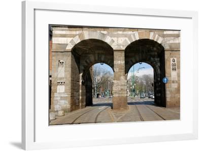 Italy. Milan. Porta Nuova--Framed Giclee Print