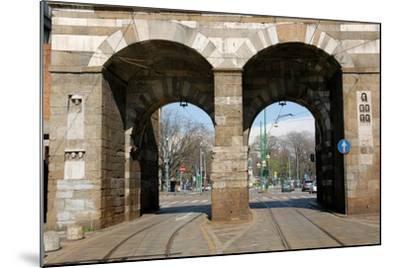 Italy. Milan. Porta Nuova--Mounted Giclee Print