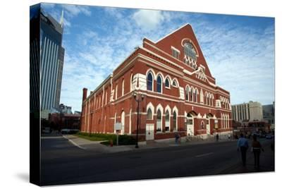 The Ryman Auditorium in Nashville Tennessee--Stretched Canvas Print