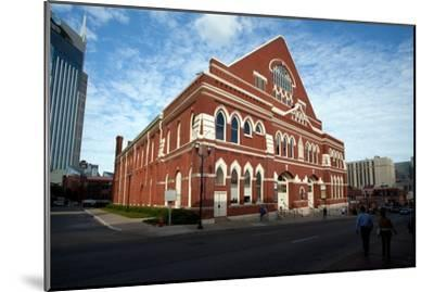 The Ryman Auditorium in Nashville Tennessee--Mounted Photographic Print